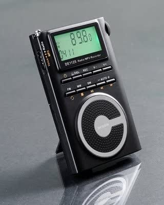 DEGEN DE1126 FM、MW、SW DSP MP3 4G Digital Recorder Radio