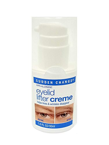 Sudden Change Eyelid Lifter Creme, 1 Ounce (Best Eye Cream For Droopy Upper Eyelids)