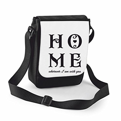 You Home Black Cover Traveling Compartment Wherever With Case Crossbody Messenger I Bag Handbag Am Small Large Family Shoulder Statement TfIqfwrPx