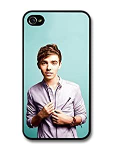 fashion case Nathan Sykes Portrait Blue Background The Wanted case for iphone 5c
