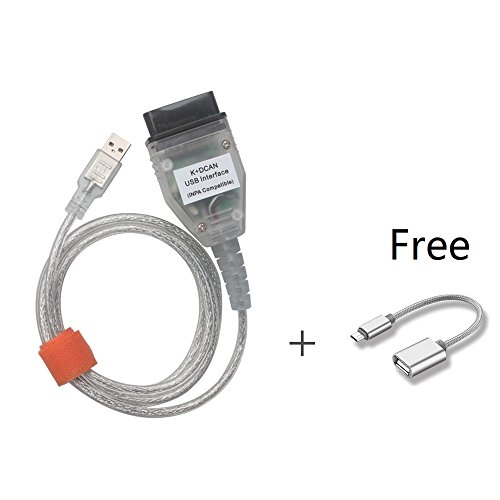 Yueku INPA Ediabas K+DCAN Diagnostic Cable Compatible with BMW E Serials  Work with NCS Coding Winkfp Tool32 Programing