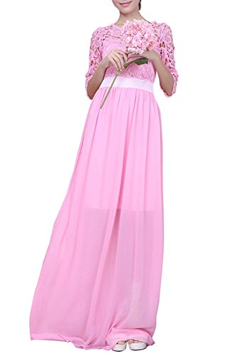 letsqk-womens-formal-lace-chiffon-a-line-half-sleeves-floor-length-prom-dresses