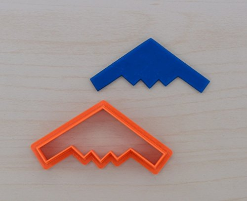 - B2 Stealth Bomber Airplane Cookie Cutter (4.5 x 2 inches)