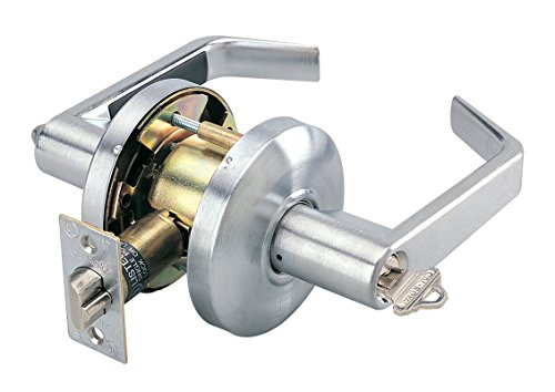 Cal-Royal SL00-26D Commercial Duty Office Entry Lock, Satin Chrome by Cal-Royal