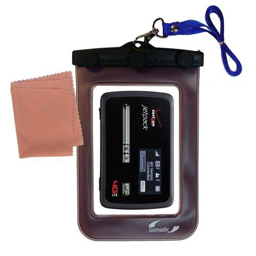 Gomadicアウトドア防水携帯ケースSuitable for the Verizon Jetpackに使用Underwater – keepsデバイスClean and Dry   B009NWGY2O