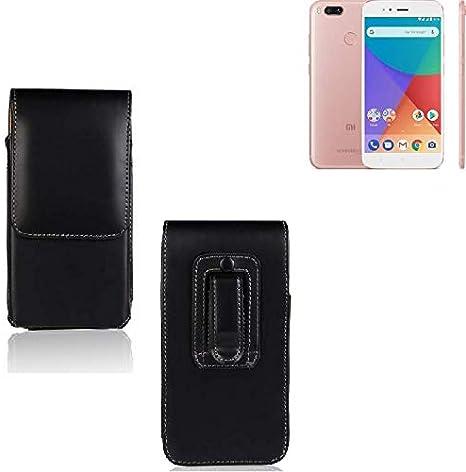 K-S-Trade® Funda para Xiaomi Mi A1, La Bolsa De Cinturón De Cuero ...