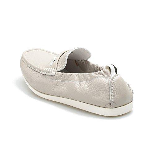 Mocassins Hommes pour Design élastique Bateau la White Blanc Noir et Cheville et Chaussures 369 Doux à Confortable SqFt4wxE