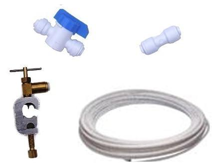Juego de filtro de agua para frigorífico americano, encaje, fontanería, conexión