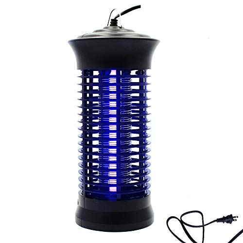 Fomei Bug Zapper Mosquito Killer - Mosquito Trap Mosquito Killer Lamp Non-Toxic LED Insect Pest Bug Mosquito Zapper Repellent Trap Repeller with Hook for Home, Indoor, Bedroom, Kitchen