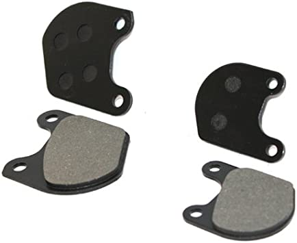 Caltric Rear Brake Pads Compatible With Harley Davidson Xlh 1000 Xlh-1000 Sportster 1979 1980 1981 Rear Pads