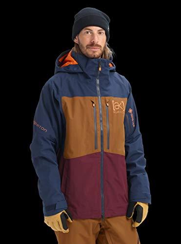 Burton Men's Men's Ak Gore-tex Swash Jacket, Dress Blue/Monks Robe/Port Royal, Medium ()