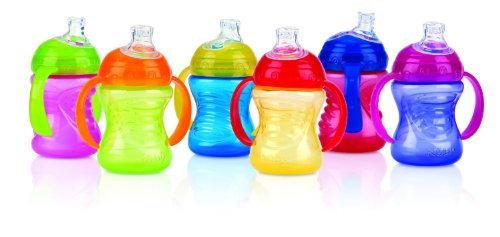Nuby 2 Handle Cup, 8 oz (Pack of 2)