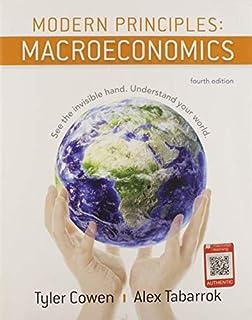 Modern Principles: Macroeconomics (1319098770) | Amazon price tracker / tracking, Amazon price history charts, Amazon price watches, Amazon price drop alerts