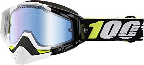 100% Racecraft Emrata Mirror Snowmobile Goggles by 100 PERCENT