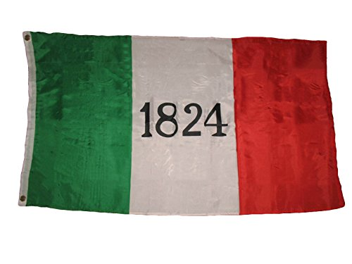 ALBATROS 3 ft x 5 ft Ft Battle of The Alamo 1824 Premium Flag Banner Texas Freedom Independence for Home and Parades, Official Party, All Weather Indoors Outdoors (Wi Wingate By)