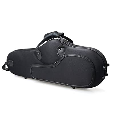High Grade Durable Cloth Saxophone Case Bag Black for Saxophones from MicroMall