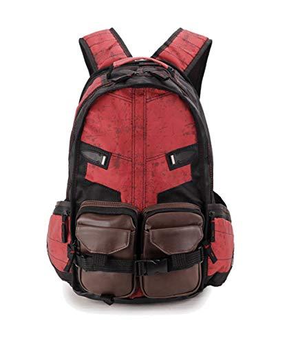 Outdoor Sports Backpack Creative Knapsack for Halloween (Dpool)]()