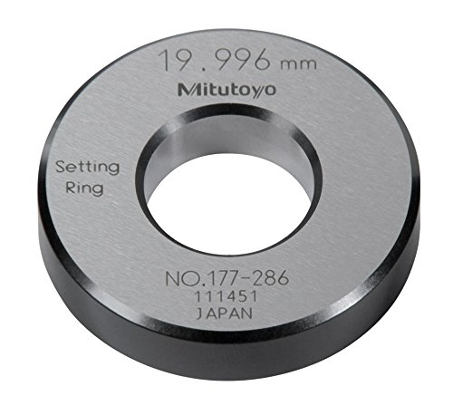 Mitutoyo 177-286 Setting Ring, 20mm Size, 10mm Width, 45m...