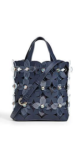 ZAC Zac Posen Women's Floral Bouquet Small North/South Shopper Bag, Parisian Nights, One -