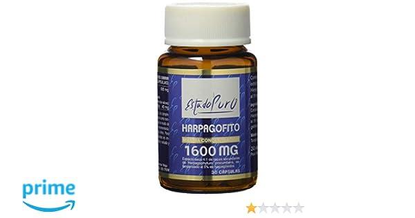 Harpagofito Estado Puro 1600 mg 30 cápsulas: Amazon.es: Salud y cuidado personal