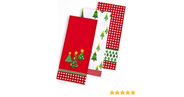Martha Stewart Holiday Kitchen towels