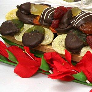 Kosher Gift Basket - Gourmet Festival of Fruit (USA) by Kosher Gift Baskets