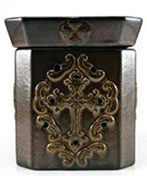 GLORY ANTIQUED RUST RADIANT Tyler Mixer Melter - Fragrance Warmer by Tyler - Fragrance Tyler Lamp Candle