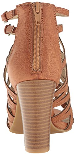 Rampage Women's Elsies Dress Chunky Heel Open Toe Bungee Sandal Natural Burn Polyurethane cheap sale shop sale 100% guaranteed hQIATkW