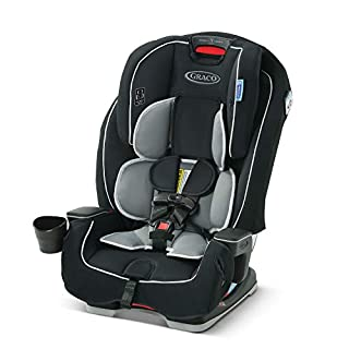 The Graco Landmark 3-in-1 Car Seat grows with your child. It's three seats in one, for comfort at every stage! It's a rear-facing harnessed car seat (5-40 lb), a forward-facing harnessed car seat (22-65 lb), and a belt-positioning booster (40-100 lb)...