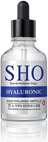 Hyaluronic Acid to Highly Moisturize and retain Moisture to prmote collagen synthesis for Anti-Aging Benefits Targeted Hydrating Ampoule 50ml