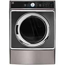 Kenmore Elite 9.0 cu. ft. Front Control Gas Dryer w/ Accela Steam in Metallic Silver, includes delivery and hookup - 02691963
