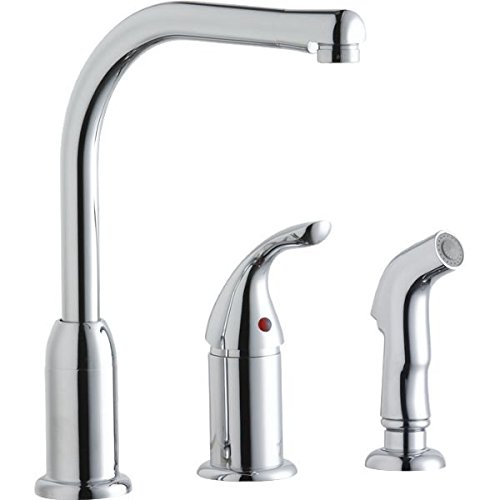 Elkay LK3001CR Chrome Everyday Single-Remote Lever Kitchen Faucet (Elkay Faucet Cartridge compare prices)