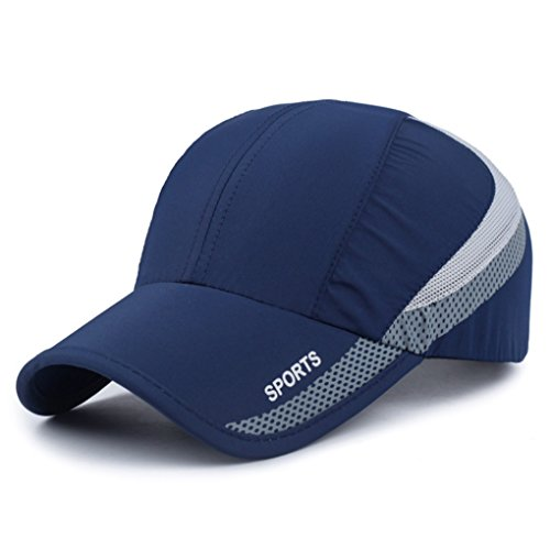 Quick Drying Lightweight Baseball Cap Outdoor Airy Mesh UV Protection Sun Hats - Hat Protection Sun Running