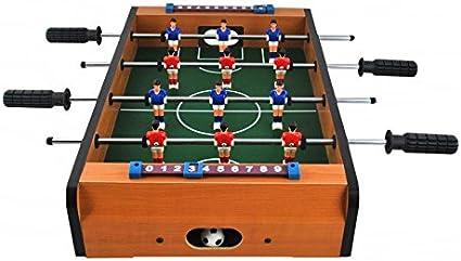 ISO TRADE Juego de Futbolín Grande Juego de Fútbol para 12 ...