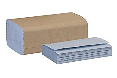 Tork 192122 Windshield Paper Towel, Single Fold, 2-Ply, 9.125