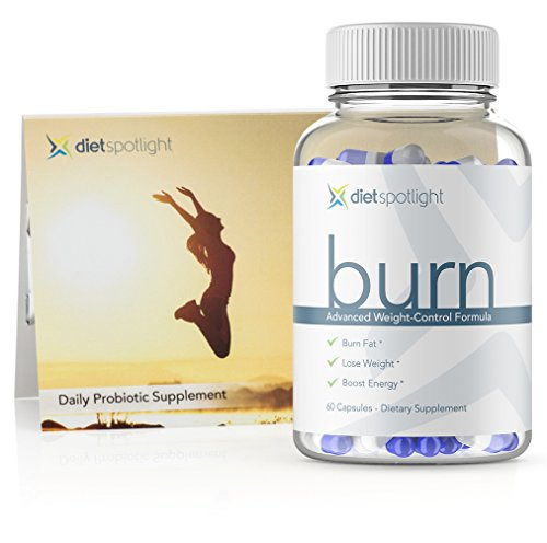Burn HD HealthKit - Weight Loss Formula Metabolism & Energy Booster, Appetite Suppressant, Safe & Effective Thermogenic Supplement (1 Month + 3-Day Probiotic)