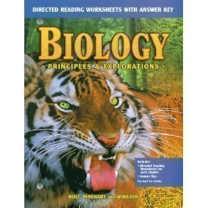 Biology: Principles and Explorations (Directed Reading Worksheets with Answer Key)
