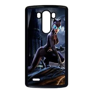 Catwoman YT5022969 Phone Back Case Customized Art Print Design Hard Shell Protection LG G3