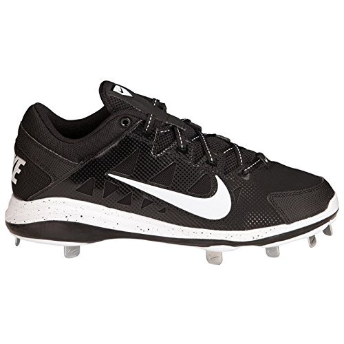 san francisco ccbb7 b88ac NIKE Mens Air Hyperdiamond Pro Baseball Mesh Cleats Black 6 Medium (D)