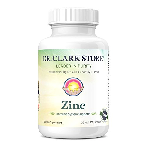 Dr. Clark Zinc Supplement, 30mg, 100 capsules