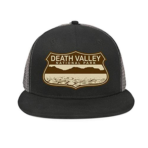 - Death Valley National Park Unisex Cotton Flat Brim Cap Adjustable Mesh Baseball Hat