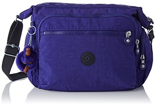 W L Bolso Summer x Morado cm Kipling Gabbie H x 15x24x45 Purple para Mujer Bandolera H0ZWqxP