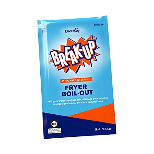 Diversey Break-Up Professional Fryer Boil-Out, 2 oz. Packet (36 Pack) ()