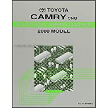 2000 Toyota Camry CNG Wiring Diagram Manual Original