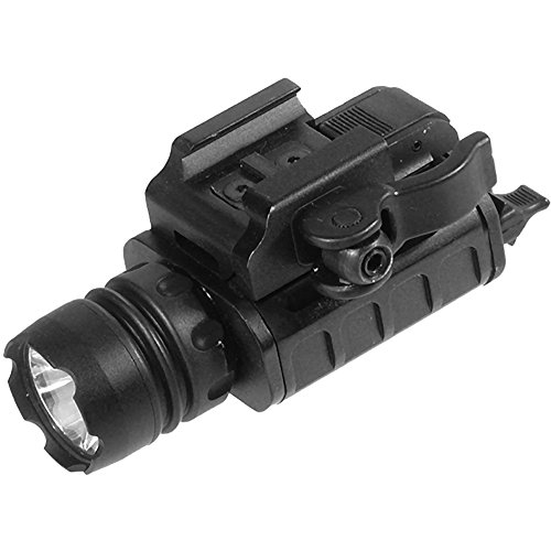 (UTG 150lumen Compact LED Pistol Light, 23mm Head, QD Mount)