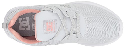 US 5 Heathrow Women Grey Medium Light 6 Skate DC Shoe BzR0w