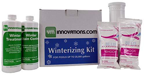 ng Pool Winterizing Chemical Treatment Closing Kit - Up to 20,000 Gallons ()