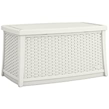 Suncast ELEMENTS® Coffee Table with Storage, White
