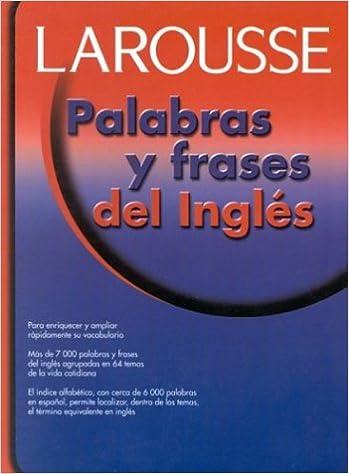 Amazoncom Palabras Y Frases Del Ingles Spanish Edition
