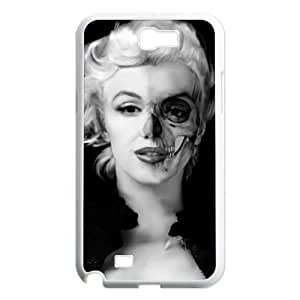 Zombie Marilyn Monroe Unique Fashion Printing Phone Case for Samsung Galaxy Note 2 N7100,personalized cover case ygtg691932